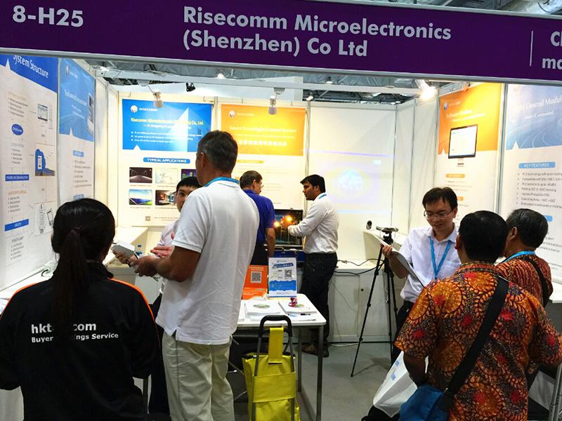 Risecomm First Lit Up The 16th Hong Kong International Light Risecomm Group Holdings Ltd
